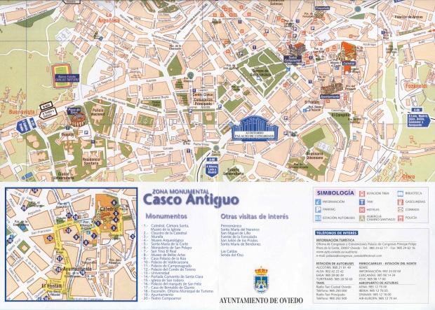 Casco antiguo of Oviedo
