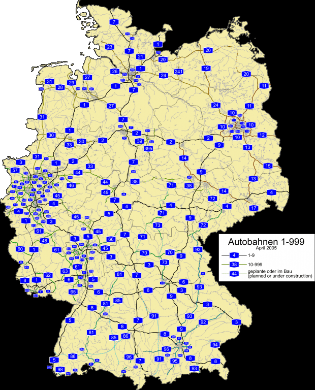 Germany road map 2005