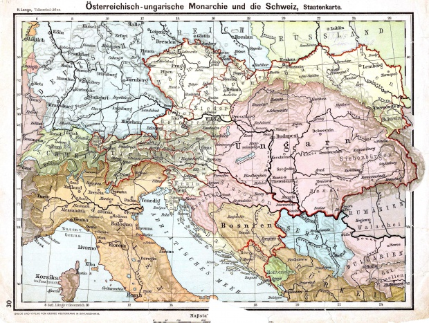 The Austro-Hungarian monarchy and Switzerland 1899