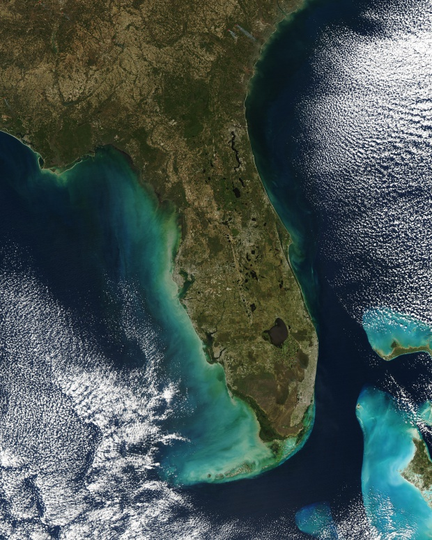 Aguas turbias cerca de Florida