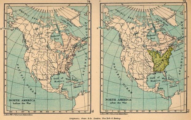 América del Norte 1775–1783