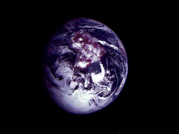América del Sur desde el espacio