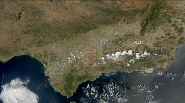 Andalucía en junio de 2010