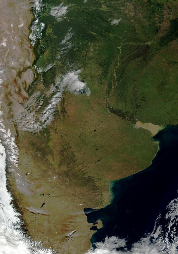 Argentina de MODIS