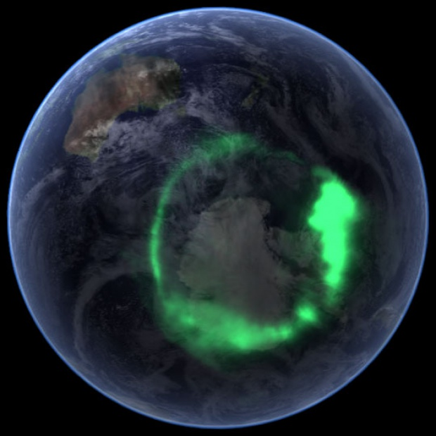 Aurora Australis of September 11, 2005