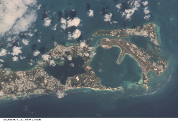 """Boilers"" along the southeast coast of Bermuda"