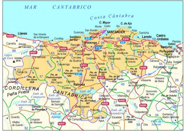 Carreteras de Cantabria