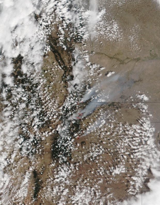 Complejo de incendios de Middle Ponil, norte Nuevo México