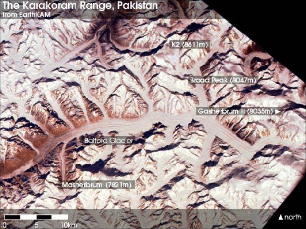 Cordillera Karakórum, Pakistán