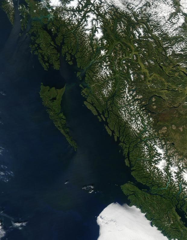 Costa del Pacífico de Canadá