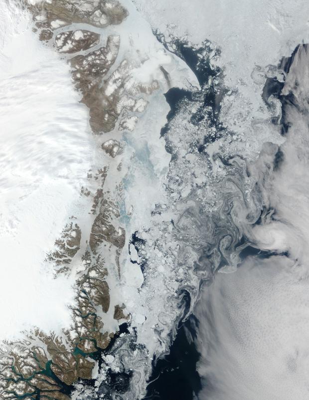 Northeast coast of Greenland