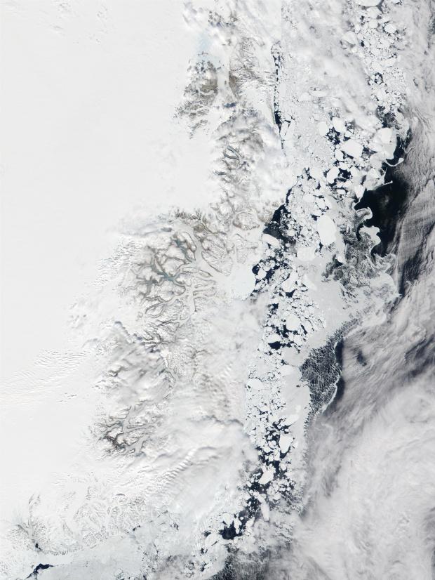 Costa oriental de Groenlandia