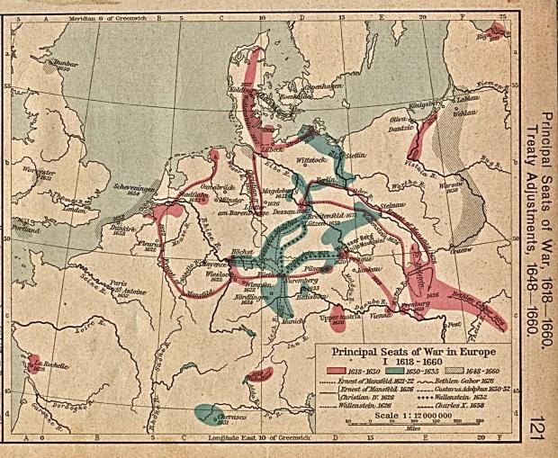 Cuarenta años de Guerra Europea 1618-1660