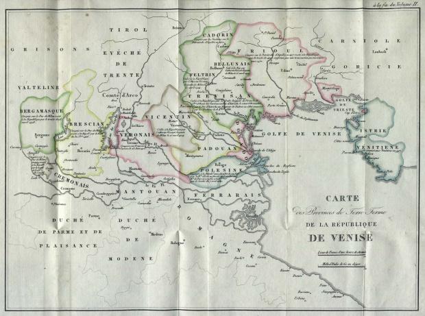 El Domini di Terraferma o Stato da Tera de la República de Venecia