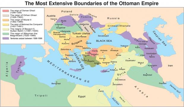 El Imperio Otomano 1299-1699