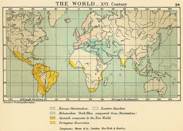 El Mundo en el siglo XVI