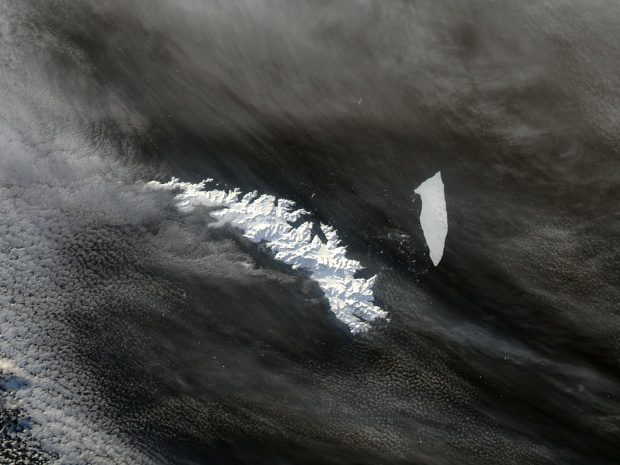 A-38B iceberg off South Georgia