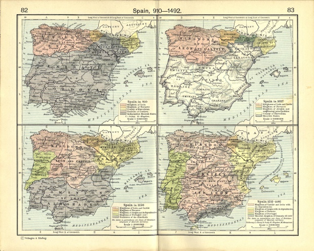 Spain between 910 and 1492