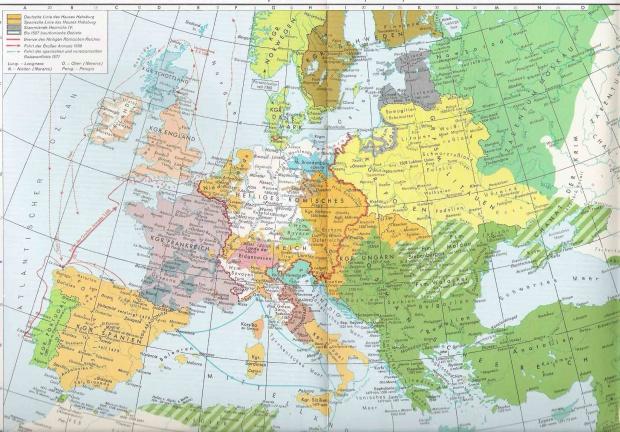 Europa entre 1527-1571