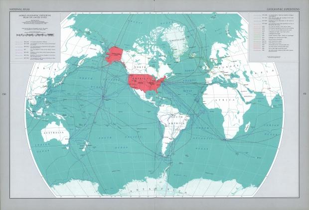 Expediciones Geográficas Estadounidenses en el Mundo