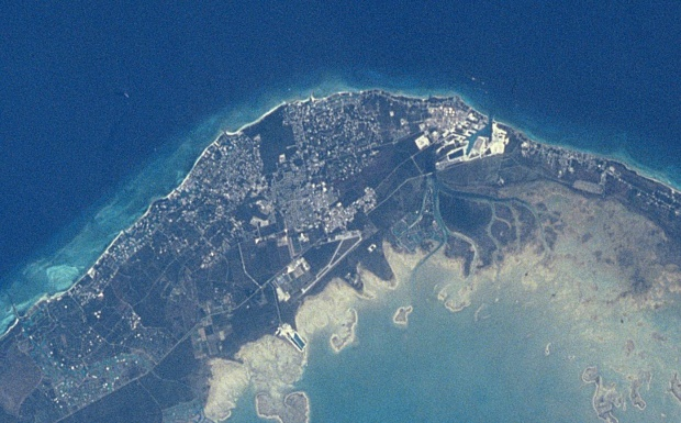 Foto e Imagen Satélite de Freeport, Bahamas