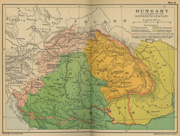 Hungría a finales del siglo XVI