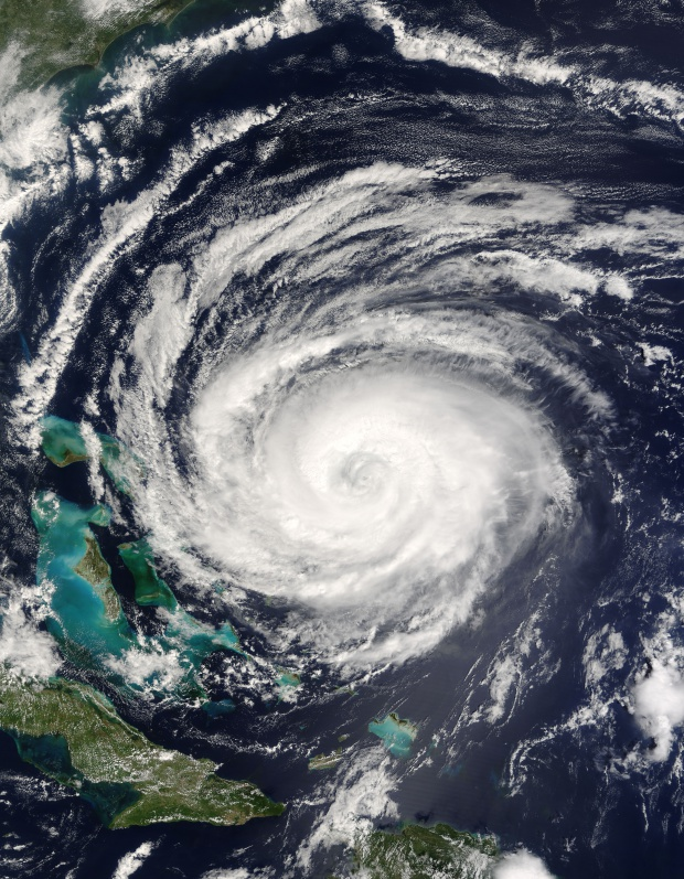 Hurricane Jeanne (11L) off the Bahamas