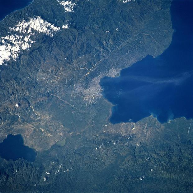 Imagen, Foto Satelite Puerto Príncipe, Haiti
