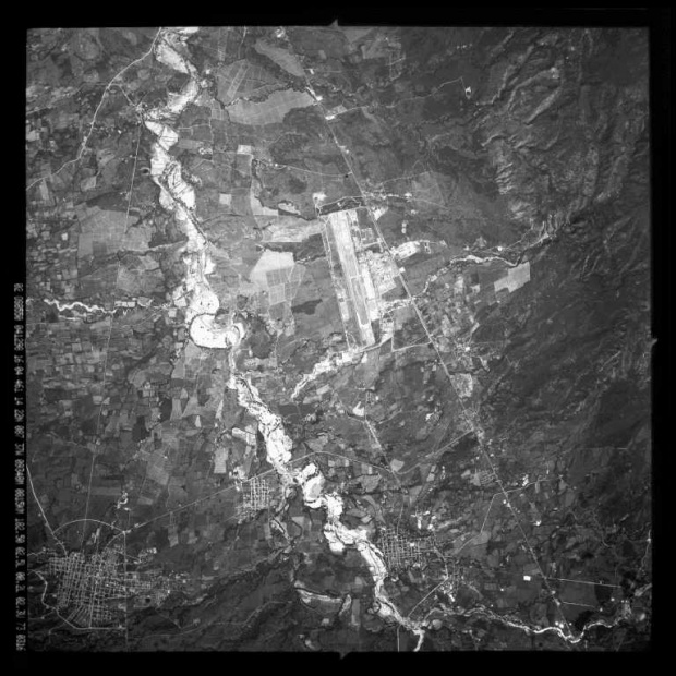 Satellite Image, Photo, Comayagua Valley, La Paz, Villa de San Antonio, Honduras