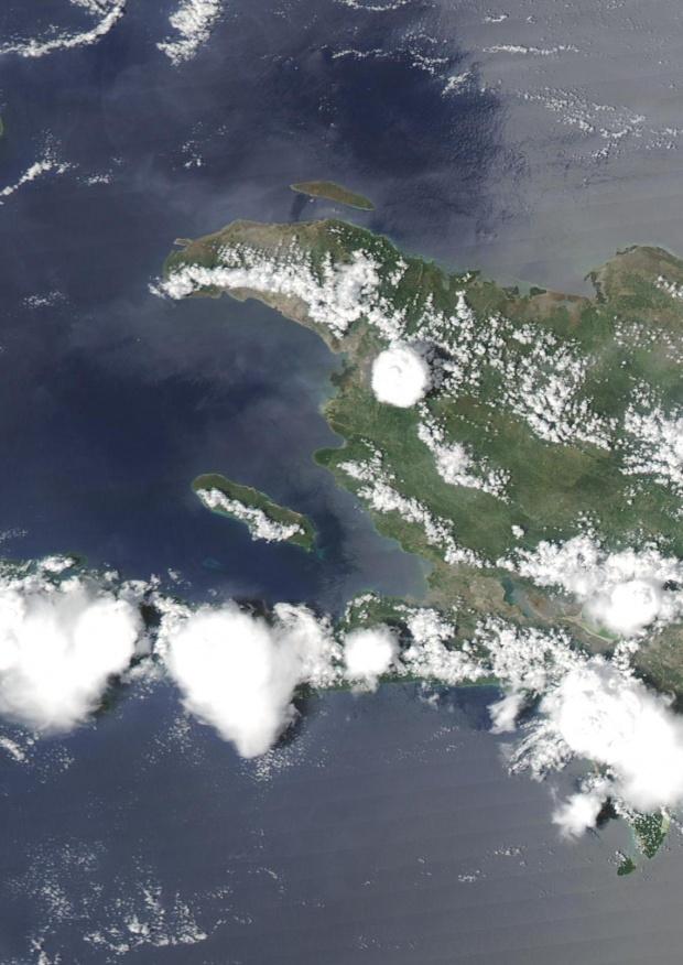 Imagen, Foto Satelite de Haití