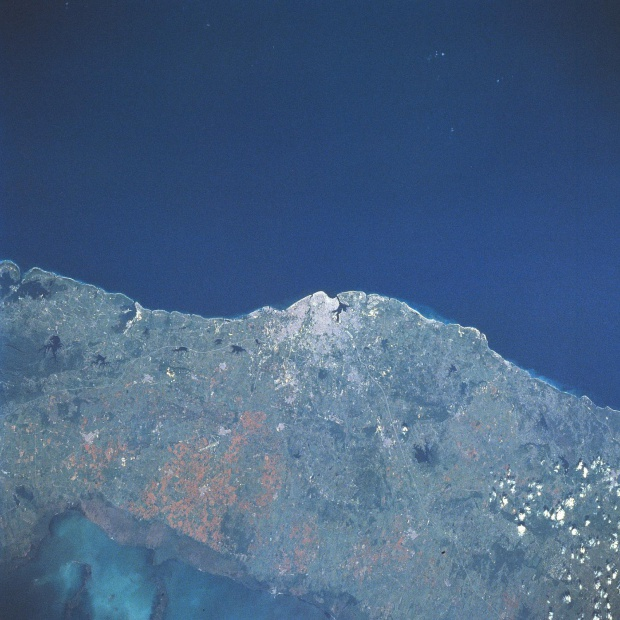 Satellite Image, Photo of Havana City, Ciudad de La Habana Prov., Cuba