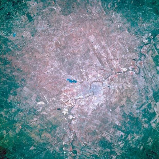 Imagen, Foto Satelite de Nuevo Laredo, Tamaulipas, Mexico