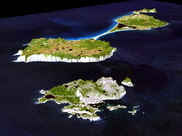 Satellite Image, Photo of Saint-Pierre and Miquelon (France)