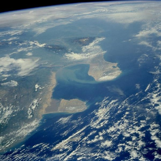 Satellite Image, Photo of Gulf of Venezuela Region, Venezuela