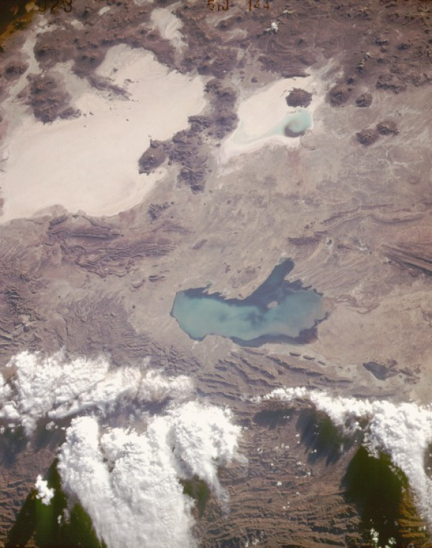 Satellite Image, Photo of Altiplano, Southwest Bolivia