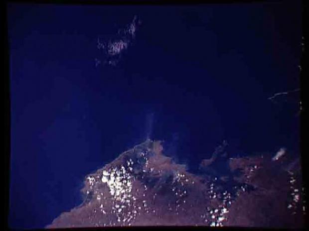Imagen, Foto Satelite del Golfo de Montijo, Panamá