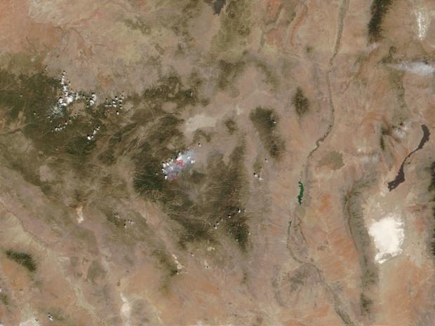 Incendio Middle en Nuevo México