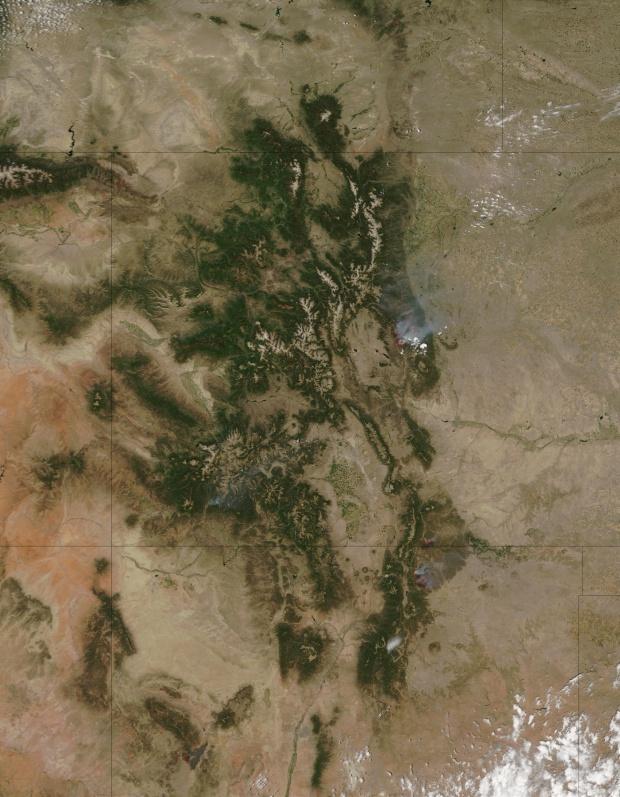 Incendios en Colorado y Nuevo México