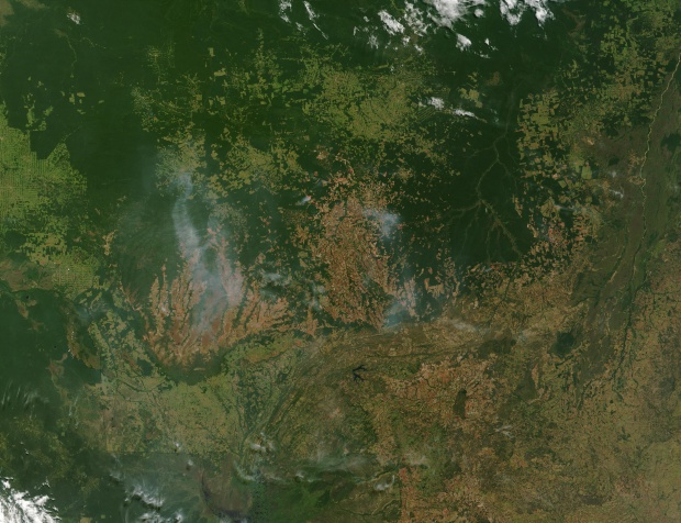 Incendios en Mato Grosso, Brasil