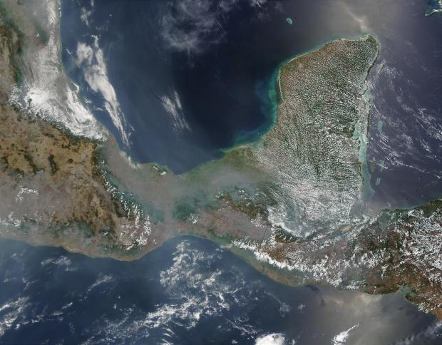 Incendios en México y América Central