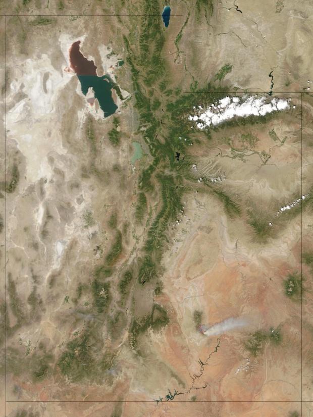 Incendios en Utah