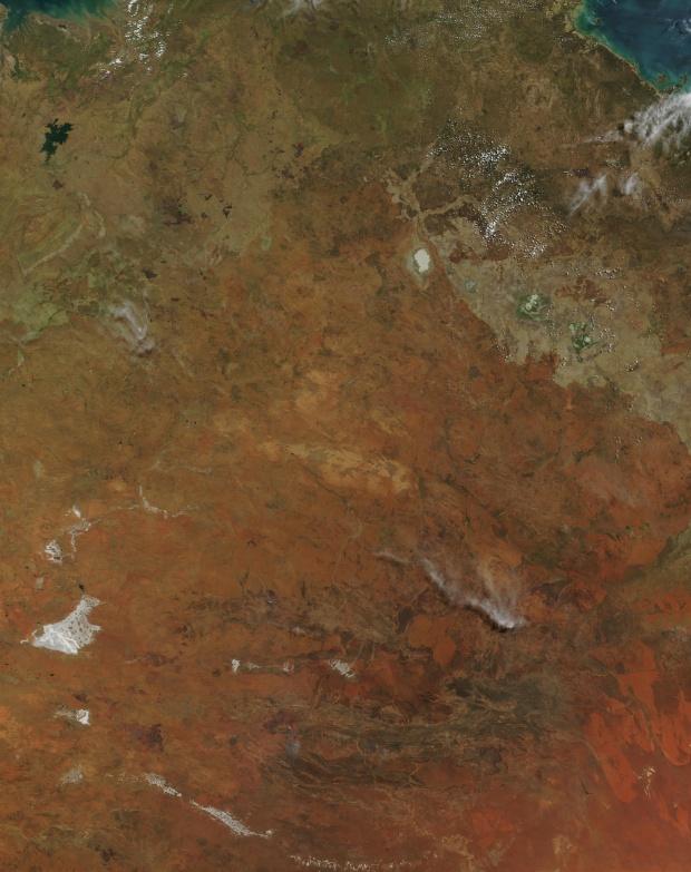 Incendios en el Northern Territory, Australia