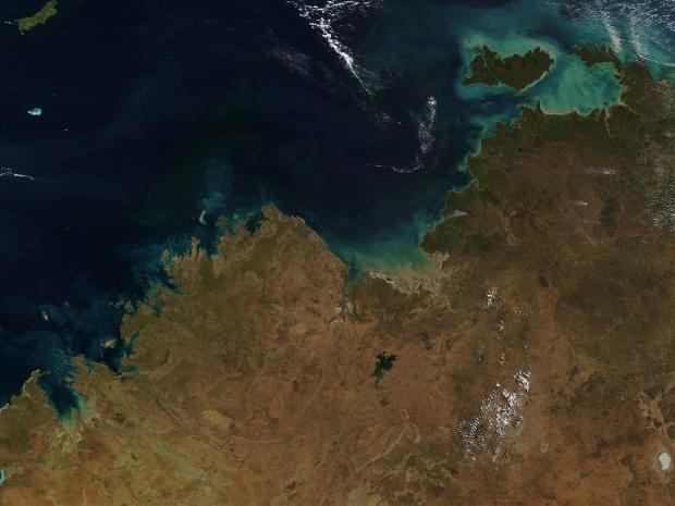 Incendios en el norte de Australia