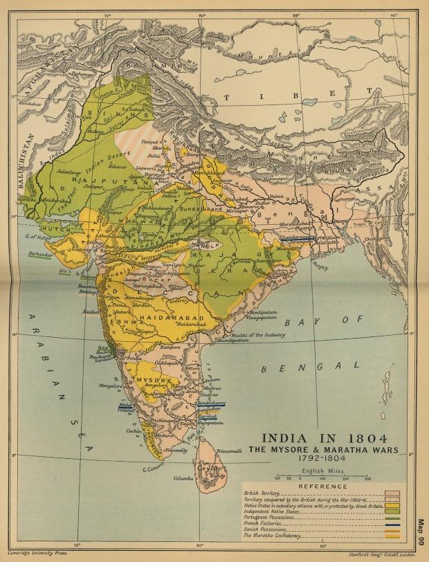 India en 1804