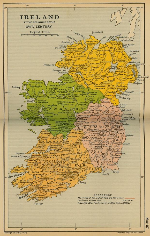 Irlanda, a principios del siglo XVI