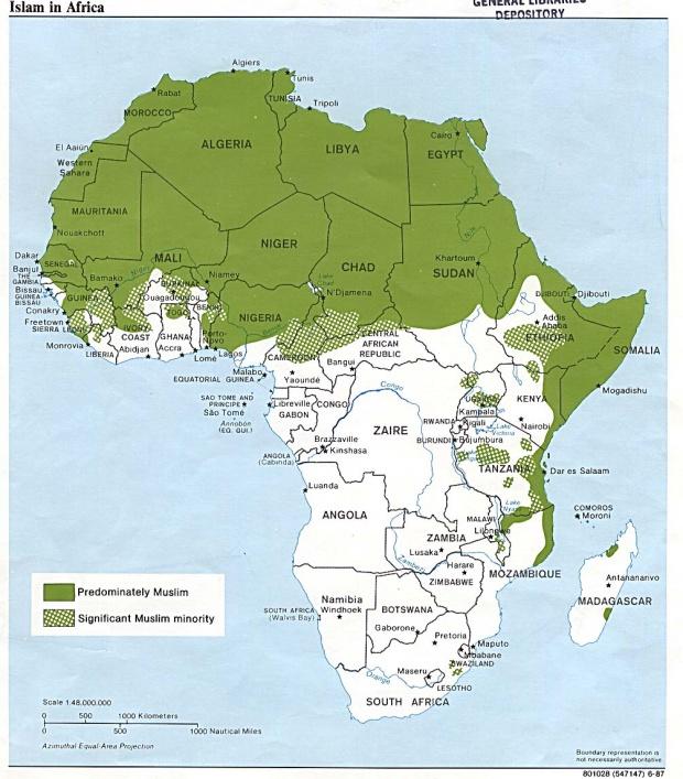 Islam en África 1987