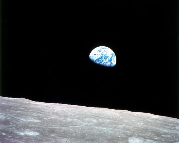 La Tierra desde la Luna
