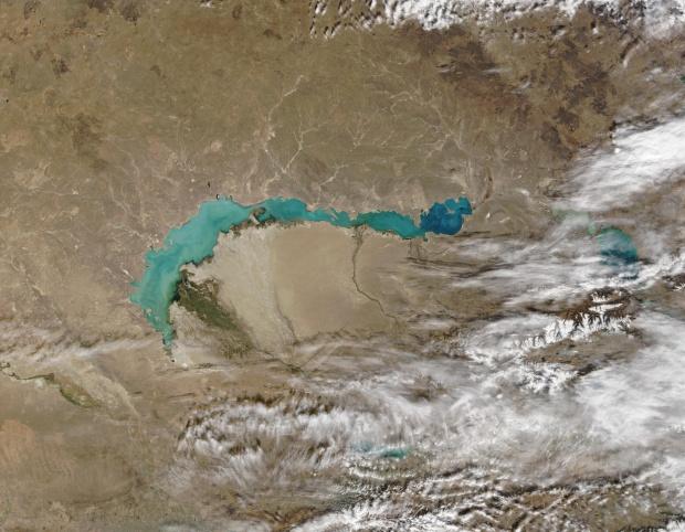 Lago Baljash, Kazajistán