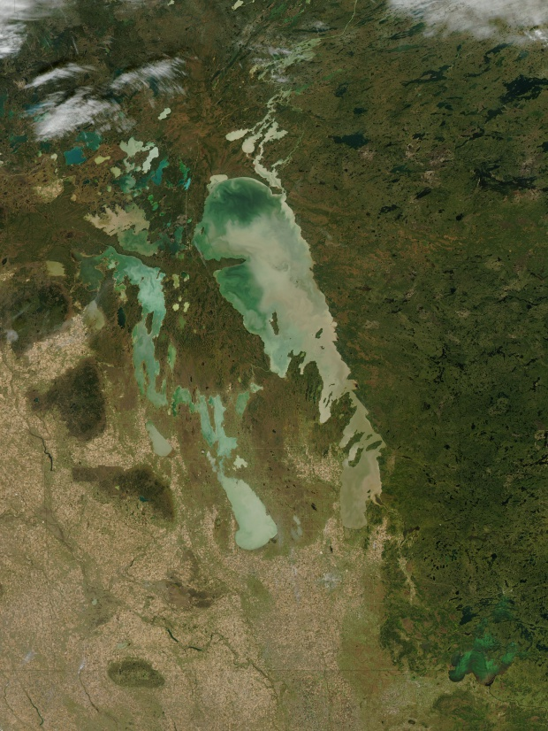 Lago Winnipeg, Manitoba, Canadá