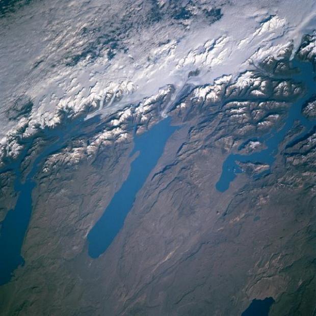 Lagos Viedma, San Martin, Argentino, Argentina